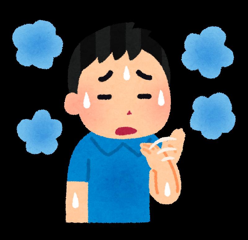 汗の臭いを抑える2つの方法
