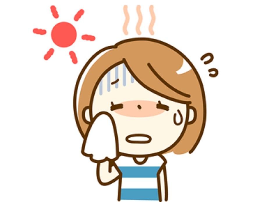 熱中症で発熱があるときの対応について