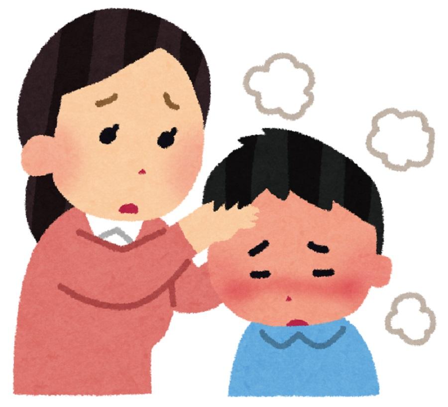 夏風邪で高熱が出たときの原因と対策