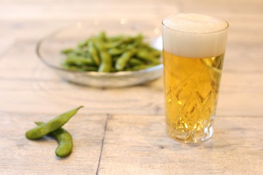 枝豆&ビールで二日酔い予防!枝豆はいつ食べるのが効果的?